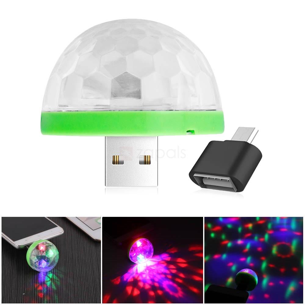 Portable USB LED Disco Ball Light