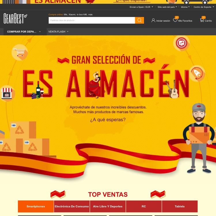 Ofertas  GearBest GearBest  España