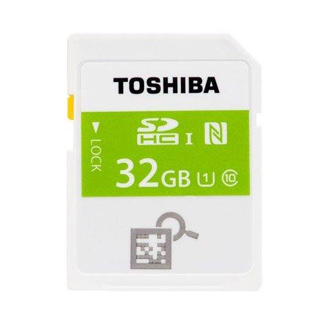Tarjeta SDHC 32 GB clase 10 con chip NFC