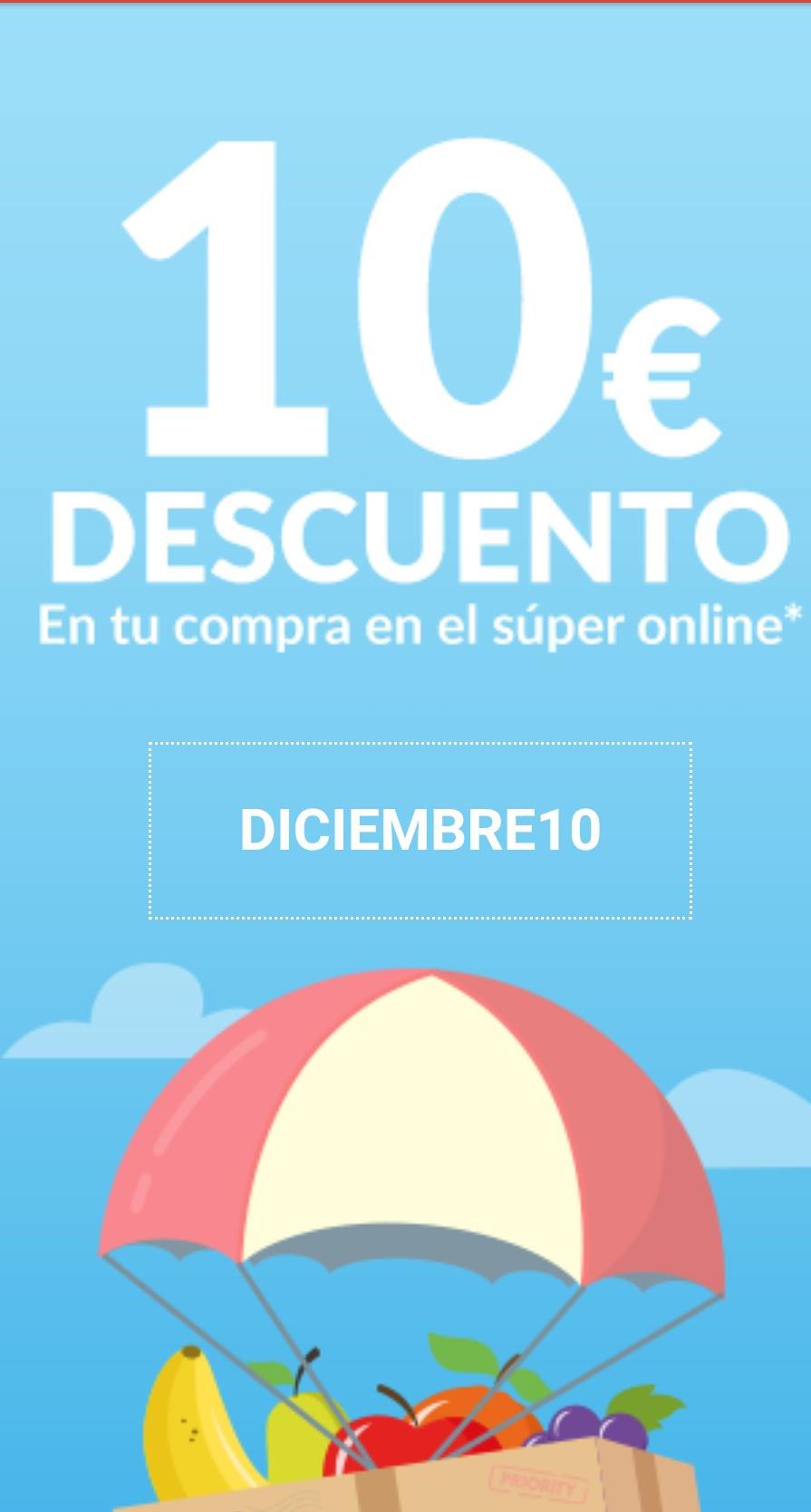 10€ de descuento en Carrefour