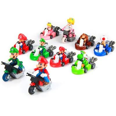 10 figuras Mario Kart