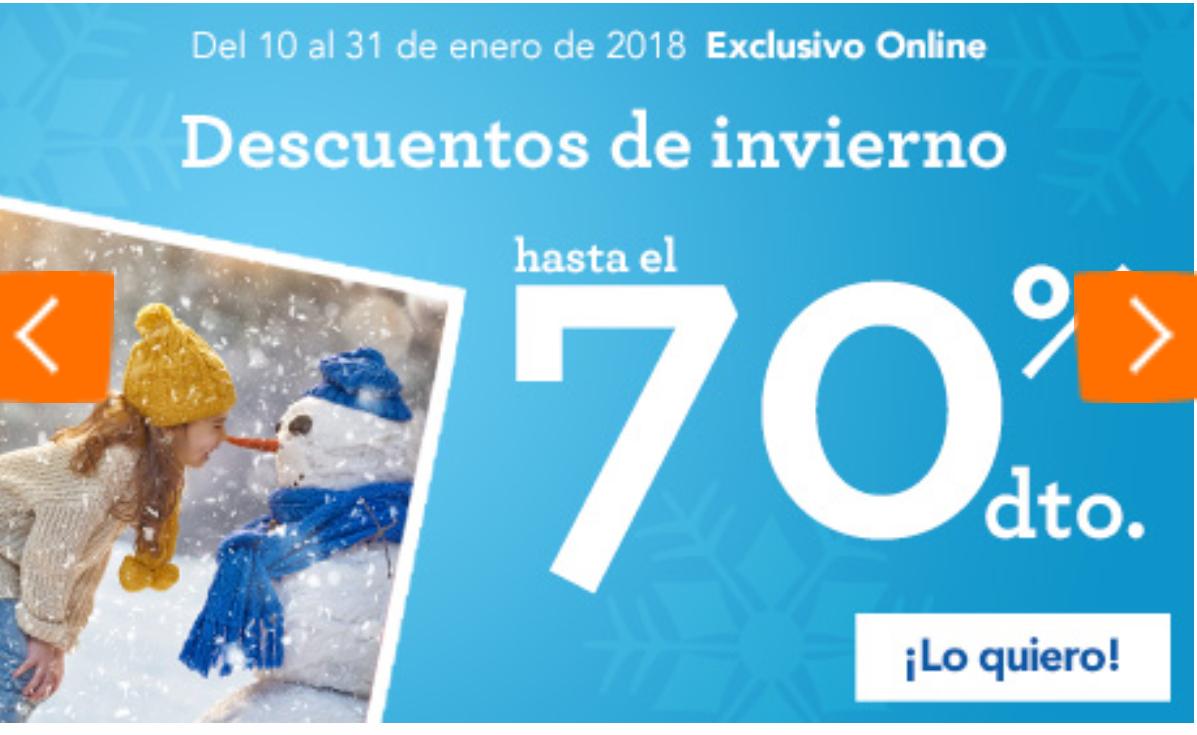 TOYSRUS: Descuentos de Invierno (hasta el 70%).