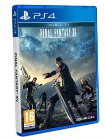 Final Fantasy XV edición Day On ( socios 10.99 envío gratis)