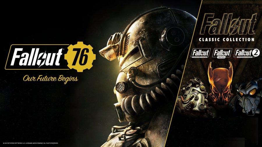 Colección de Fallout Classic GRATIS al iniciar sesión en Fallout 76 durante 2018