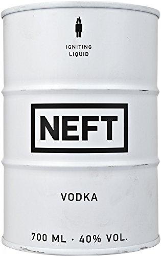 Vodka Neft   Barril Blanco.