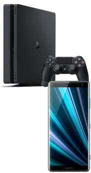 Sony Xperia™ XZ3 negro + PlayStation 4 Slim 500 GB