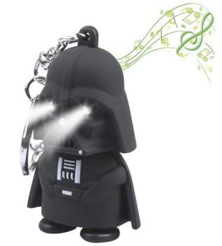 Llavero Led Darth Vader con sonido