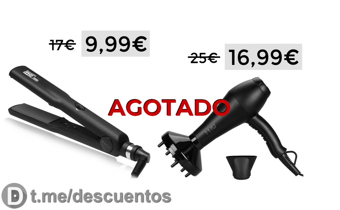 Plancha de pelo MHD solo 9.99€