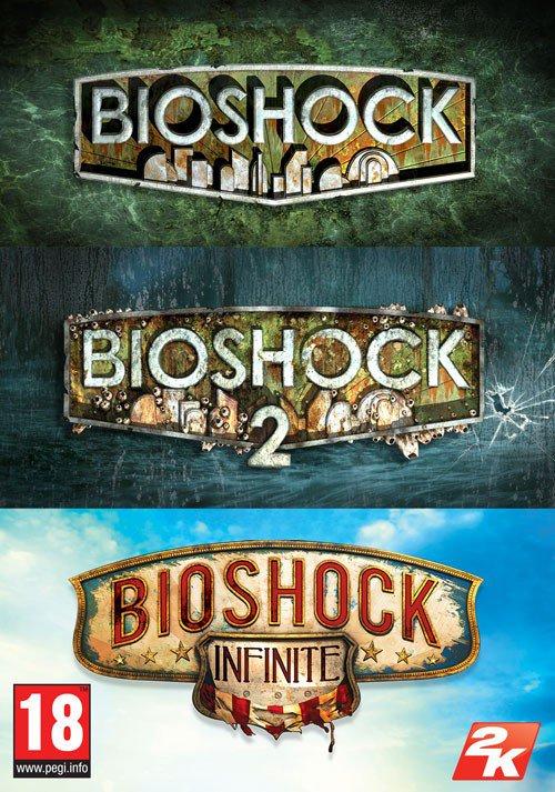 PC: BIOSHOCK Triple Pack (BIOSHOCK + BIOSHOCK 2 + BIOSHOCK INFINITE)