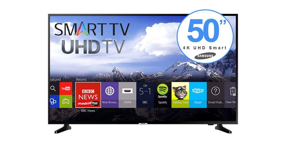 "SAMSUNG UE50NU7095 Tv Led UHD 4K 50"" Smart Tv WiFi con Entrada Satélite"