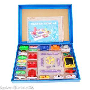 Más Stock !!!. Juguete educacional Kit electronico solar (+8 años)