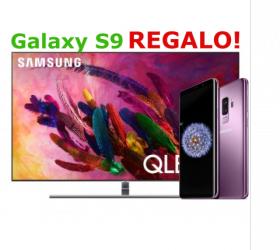 """¡QLED SAMSUNG 65"""" QE65Q7FN 4K + Samsung Galaxy s9 de regalo por 1599€! Envío gratis"""