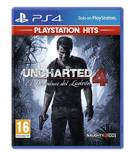 PS4 Uncharted 4: El Desenlace del Ladrón (PlayStation Hits)
