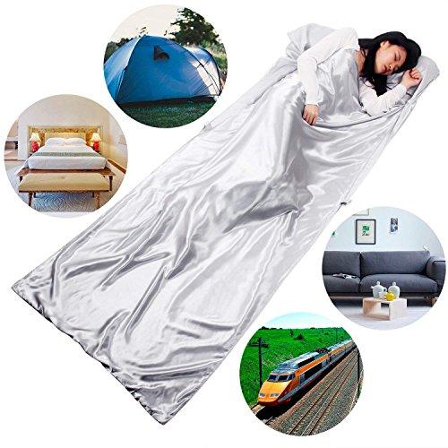 HOVNEE Saco de dormir de verano de microfibra
