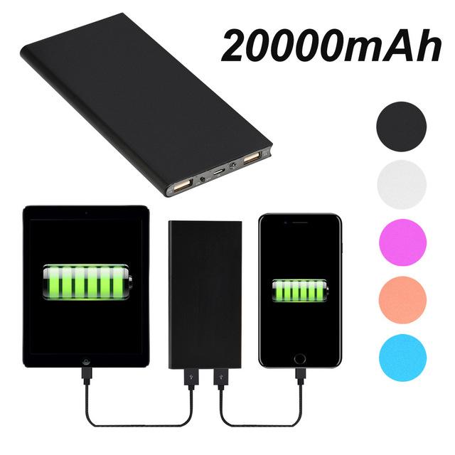 Batería Externa de 20.000mAh