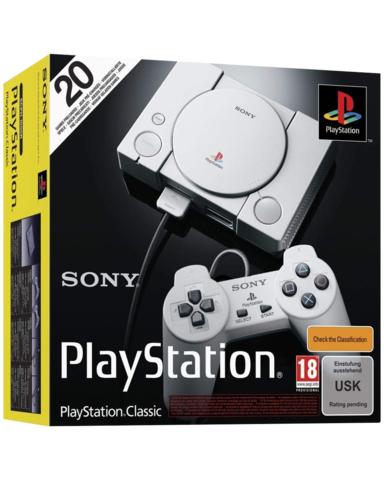 Playstation clasic + 2 mandos