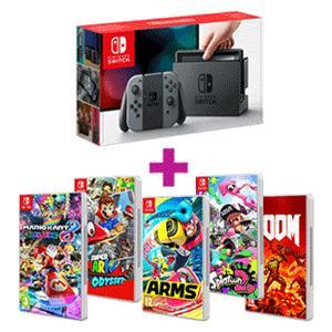 Nintendo Switch Gris + juego a elegir