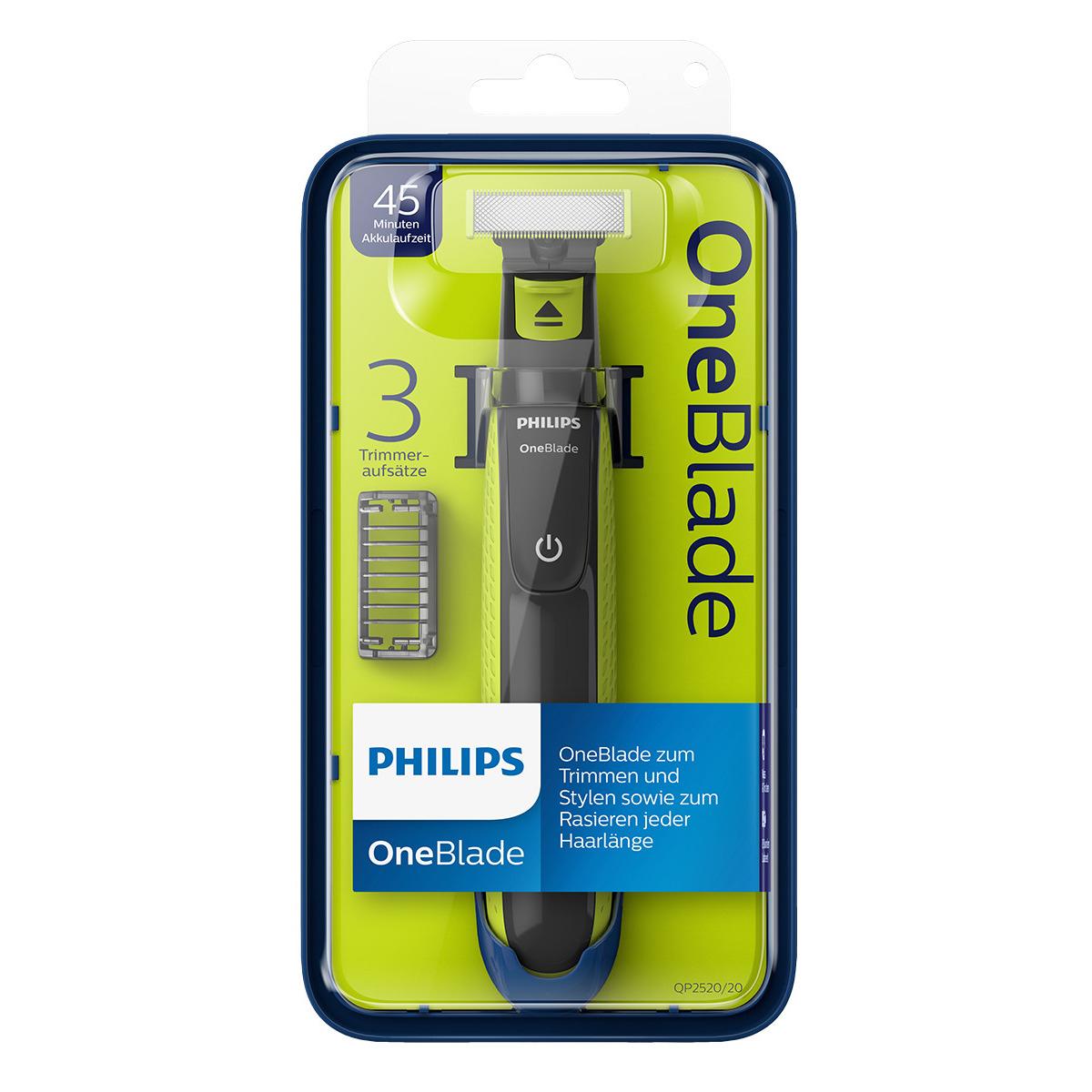 Philips OneBlade; Recorta, perfila y afeita