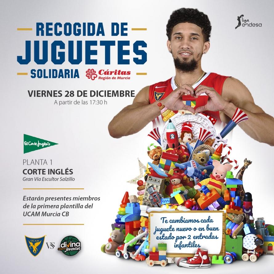 Gratis Basquet Acb Murcia Vs Joventut 1 juguete por 2 entradas infantiles