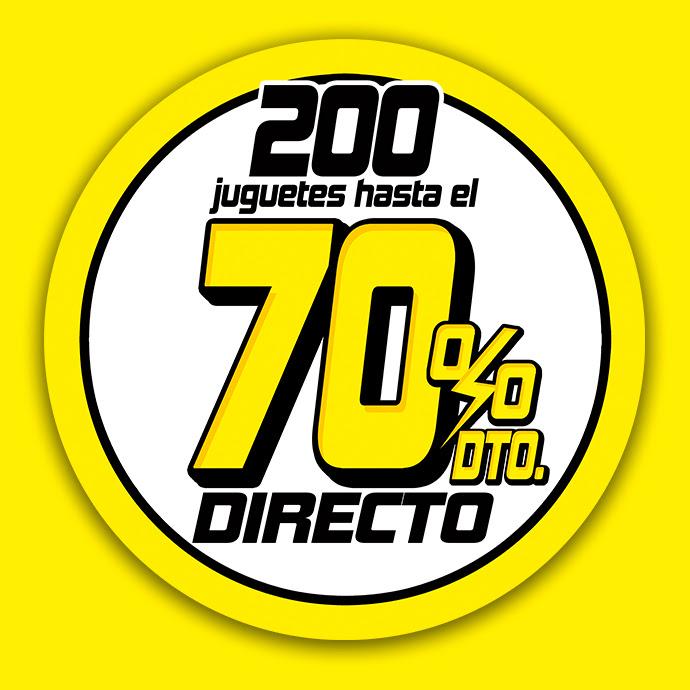 Hasta -70% en 200 juguetes