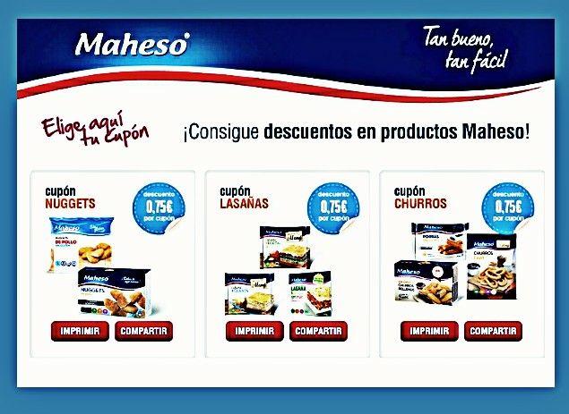 CUPONES (MAHESO)