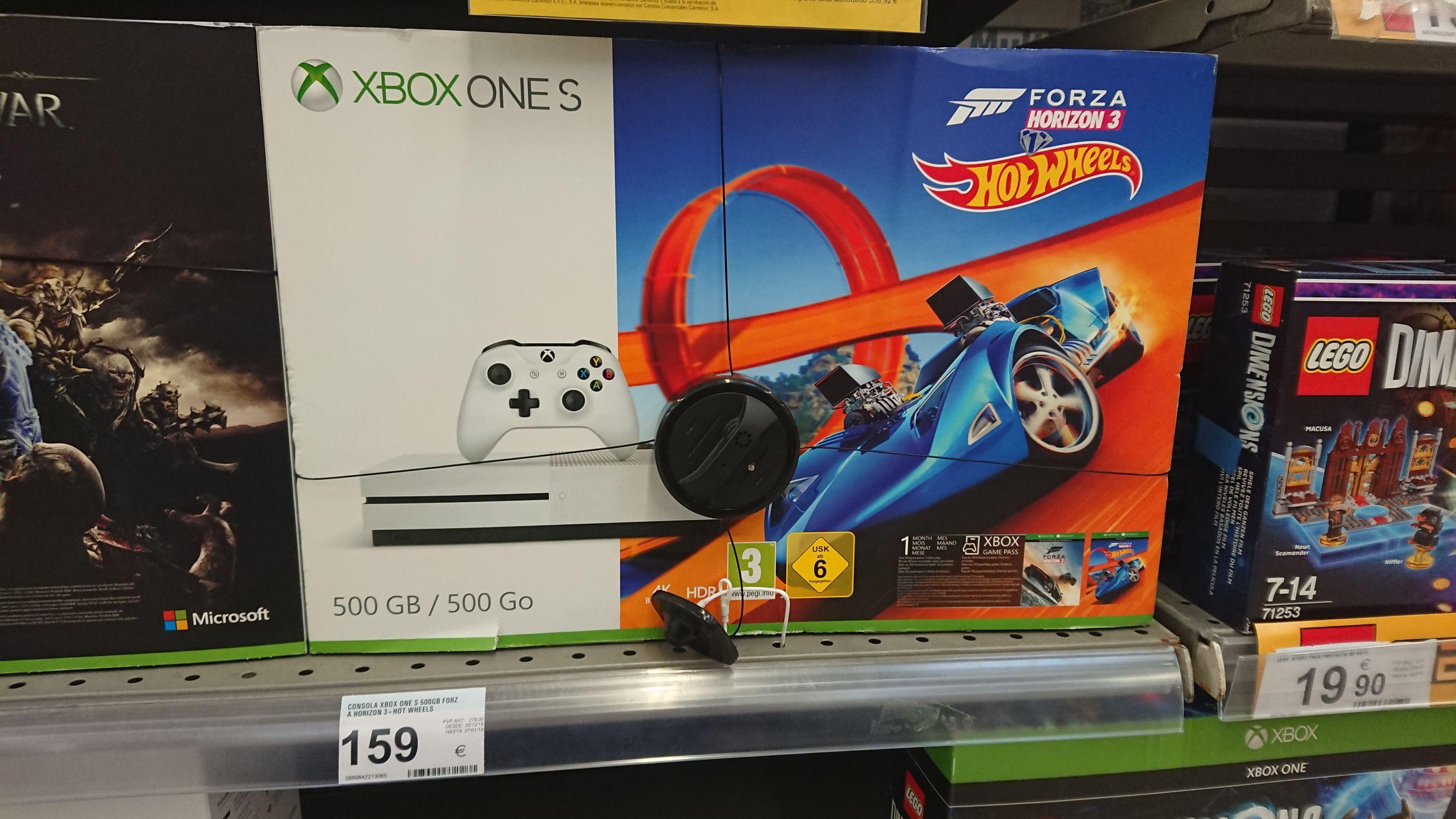 Xbox one s 500gb +  2 juegos
