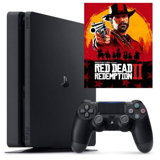PS4 Slim con 1 juego solo 59€