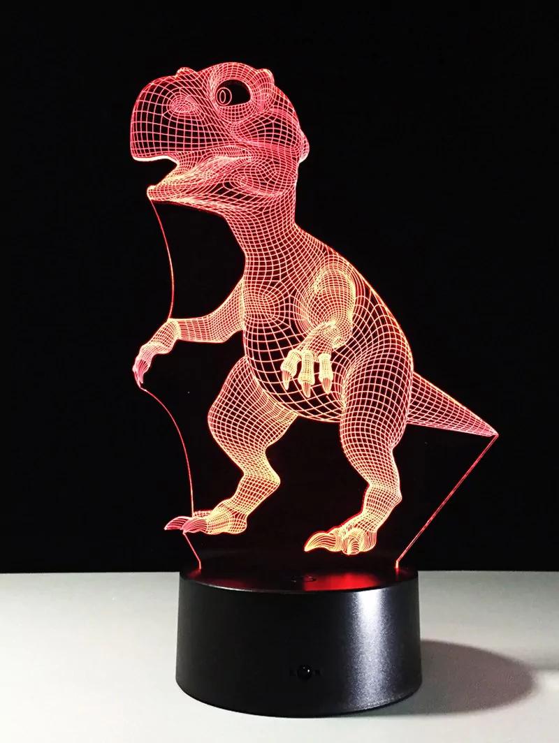 Lámpara 3D T-Rex por solo 6.54€
