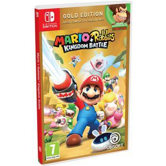Mario + Rabbids Kingdom Battle Gold Edition Nintendo Switch