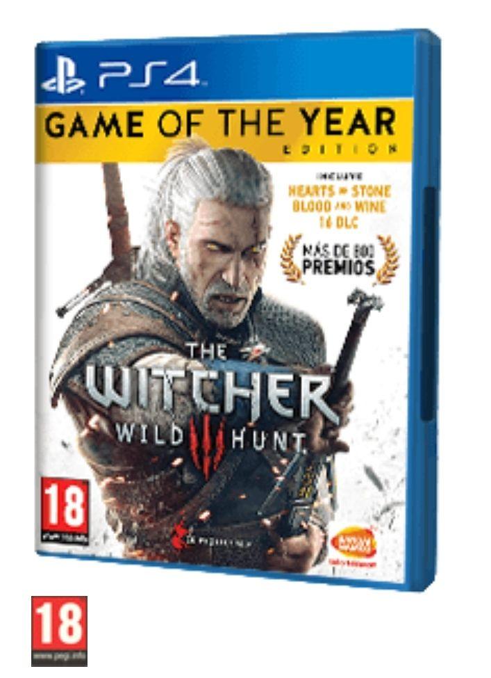 THE WITCHER 3: WILD HUNT GOTY PS4, XBOX ONE Y PC