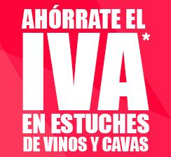 Ahorro del IVA en vino y cava
