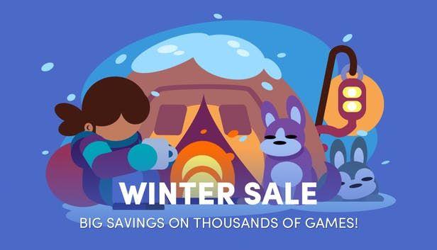 Grandes ofertas invernales en la tienda Humble Store