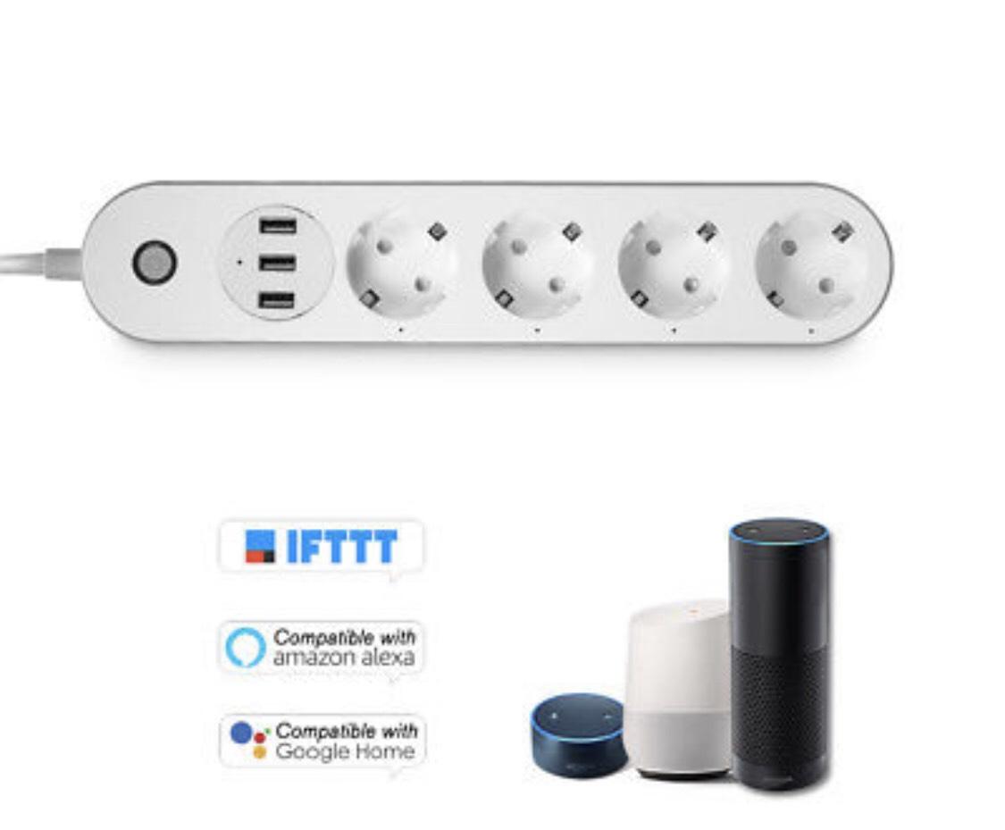 Regleta inteligente con USB y WIFI