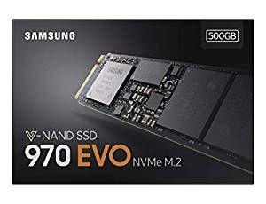 Samsung 970 EVO - Disco duro SSD NVMe M.2 de 500 GB