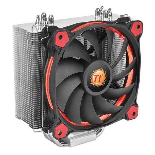Thermaltake Riing Silent 12 CPU Cooler Rojo