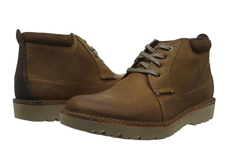 Clarks Vargo Mid, Zapatos de Cordones Derby para Hombre