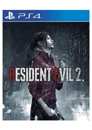 Resident evil 2 remake desde uk para ps4 y xbox (carátula en 3D)