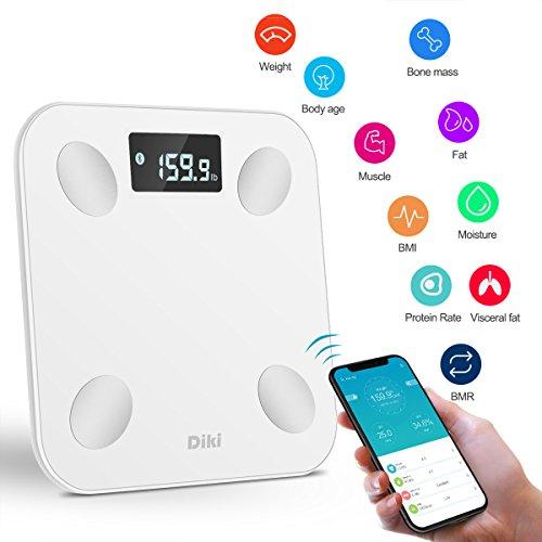 Báscula de Baño Digital DIKI APP Android y IOS
