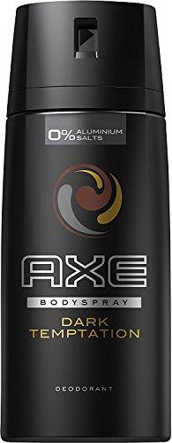 3 x Axe Dark Temptation Desodorante - Paquete de 3 x 150 ml