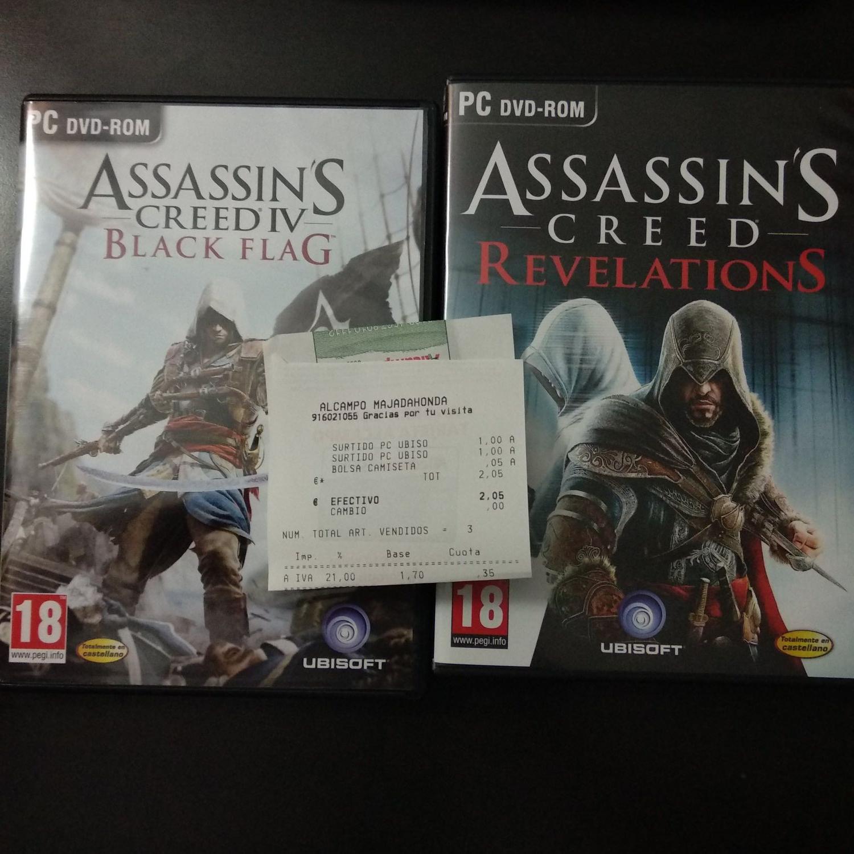 Juegos de UBISOFT a 1€ PC