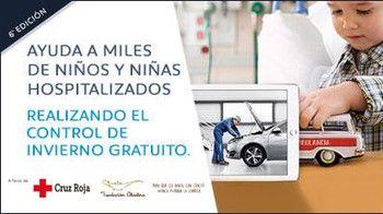 Peugeot: revisa tu coche gratis y ayuda a niños hospitalizados