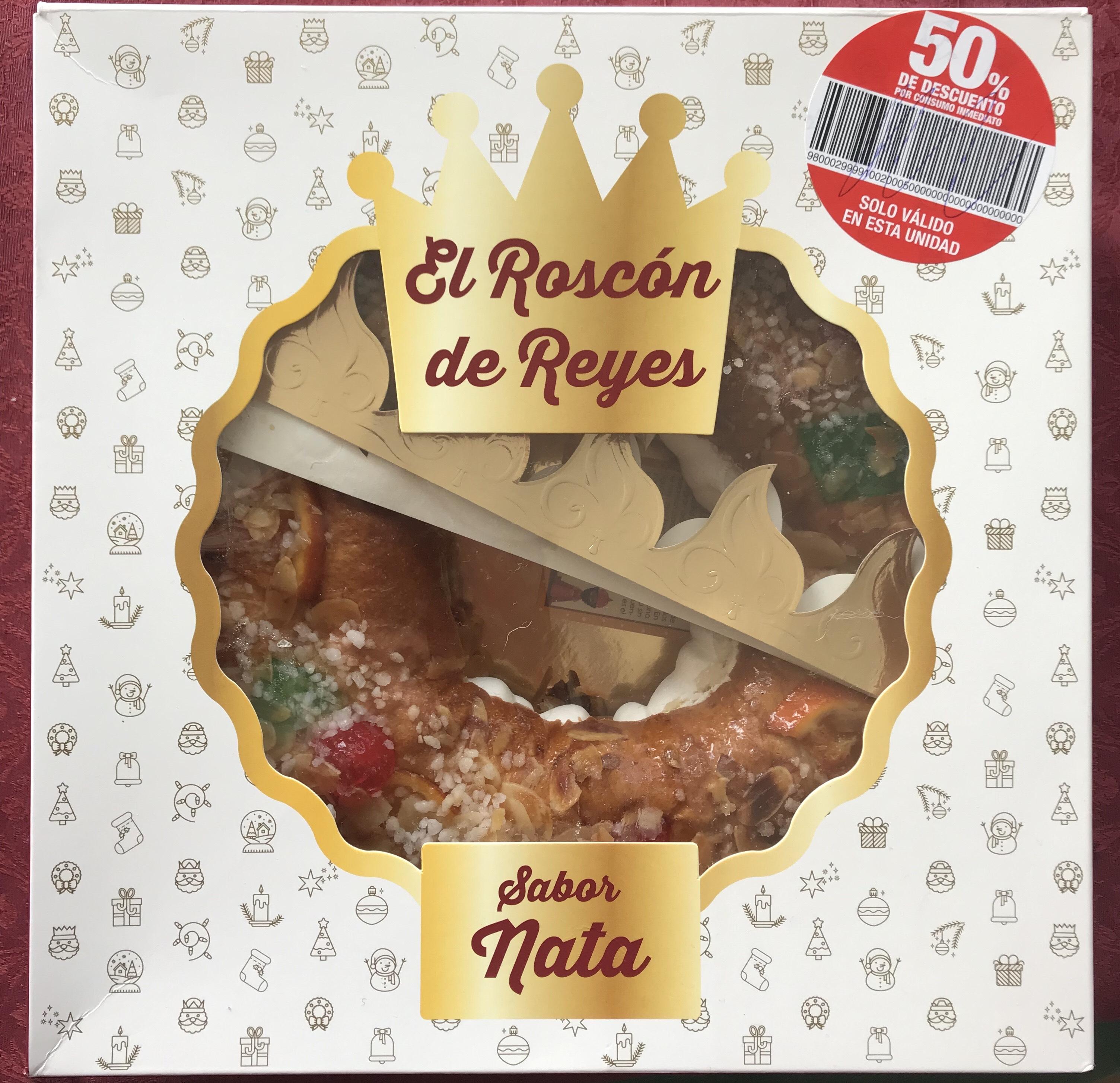 ¡Roscones de Reyes de nata/trufa a 2,50€ en supersol!