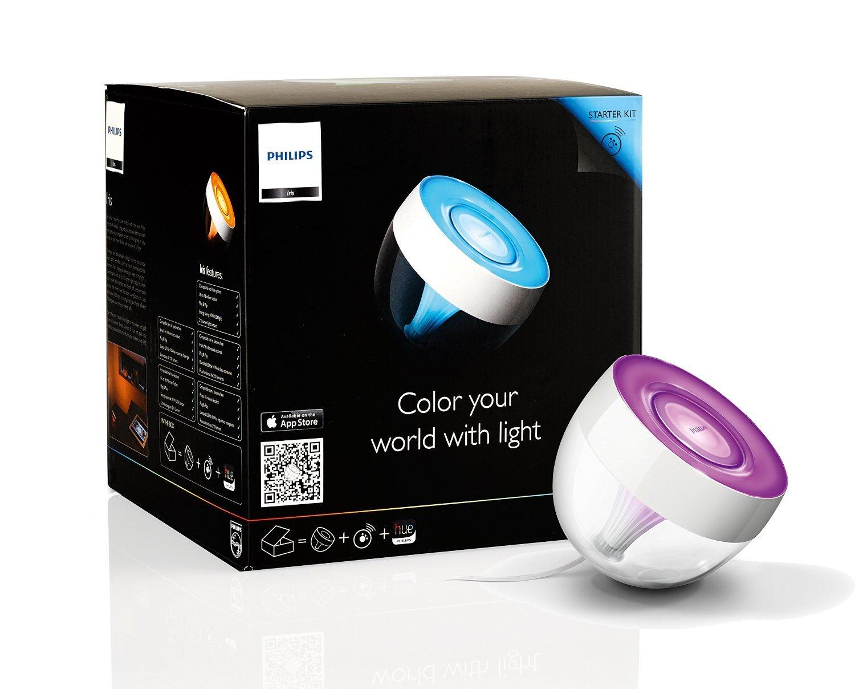 Philips LivingColors Iris - Lámpara de mesa LED