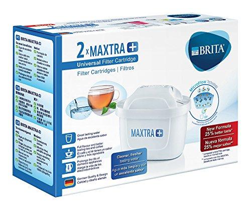 Brita MAXTRA+ Pack de 2 Filtros para el Agua