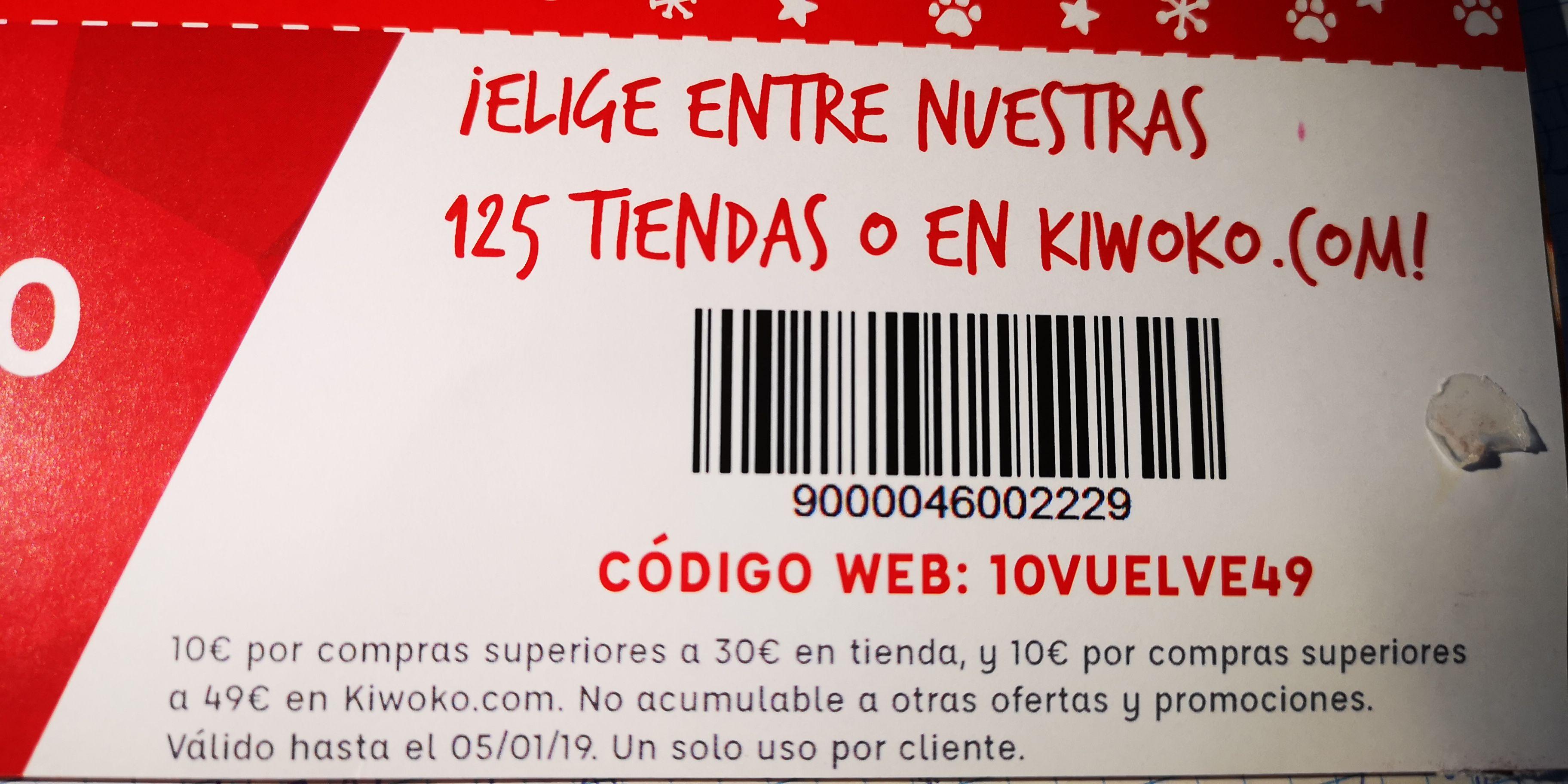 10€ de descuento en Kiwoko