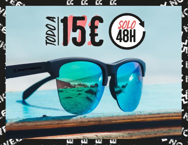 TODAS las gafas de Northweek a 15€ durante 48h