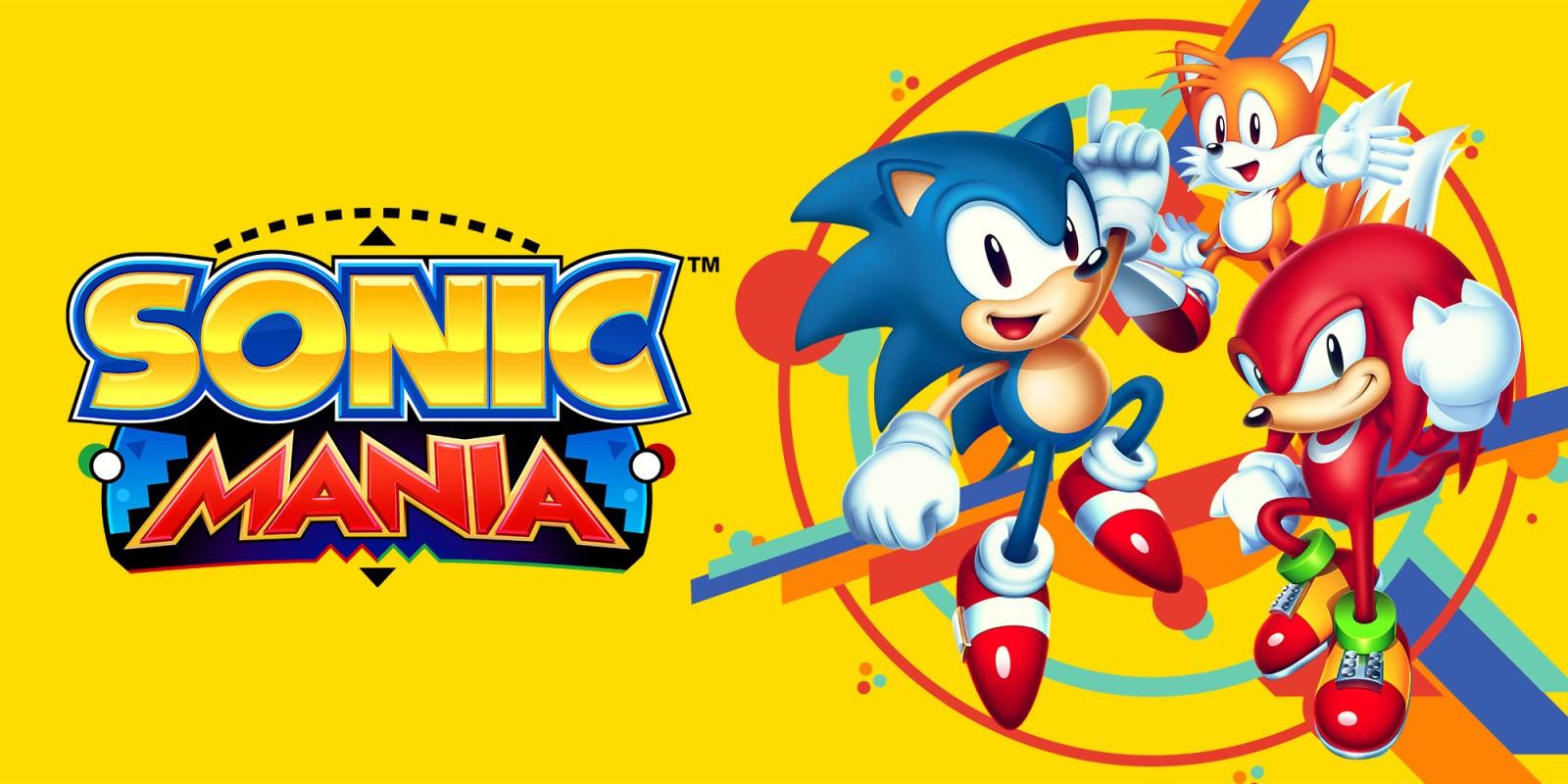 Sonic Mania para Nintendo Switch Digital (eshop Rusia)