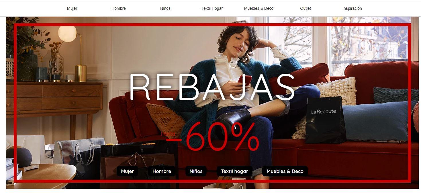 La Redoute nos ofrece descuentos de hasta el 60%