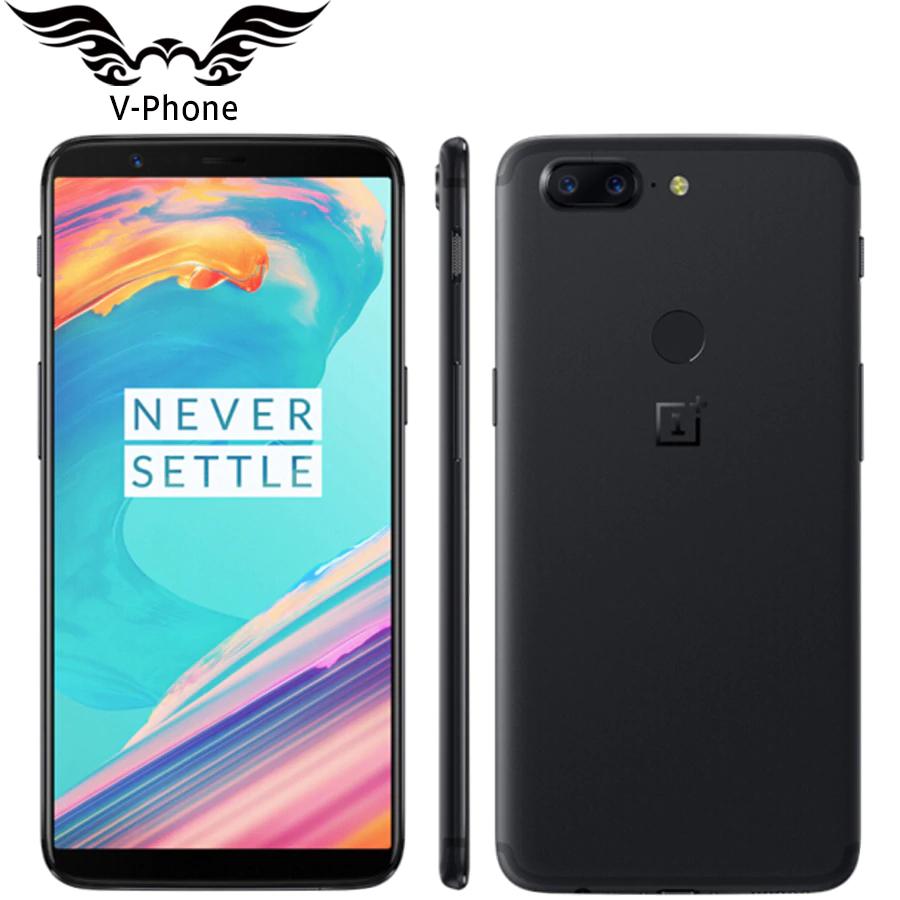 OnePlus 5T - 8 GB / 128 GB - Mirror Black