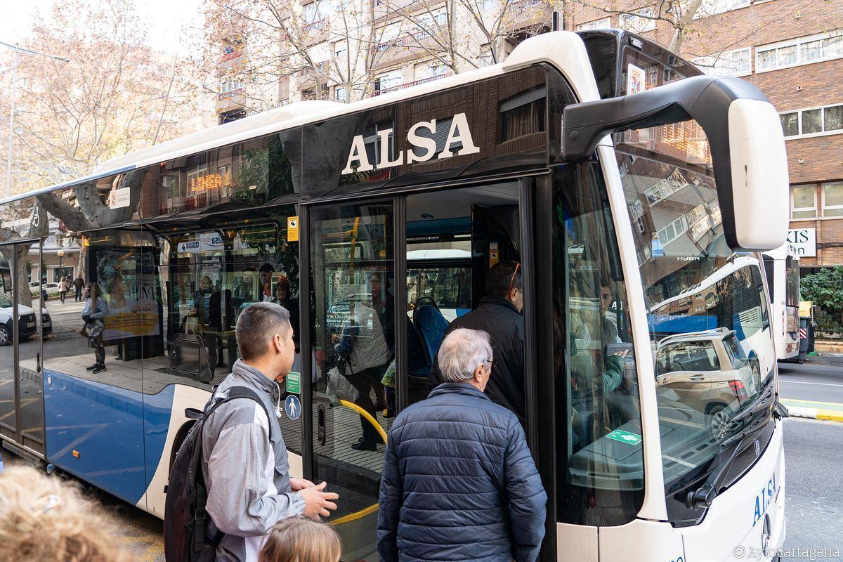 Autobús gratuito Cartagena ( Sábado 5)